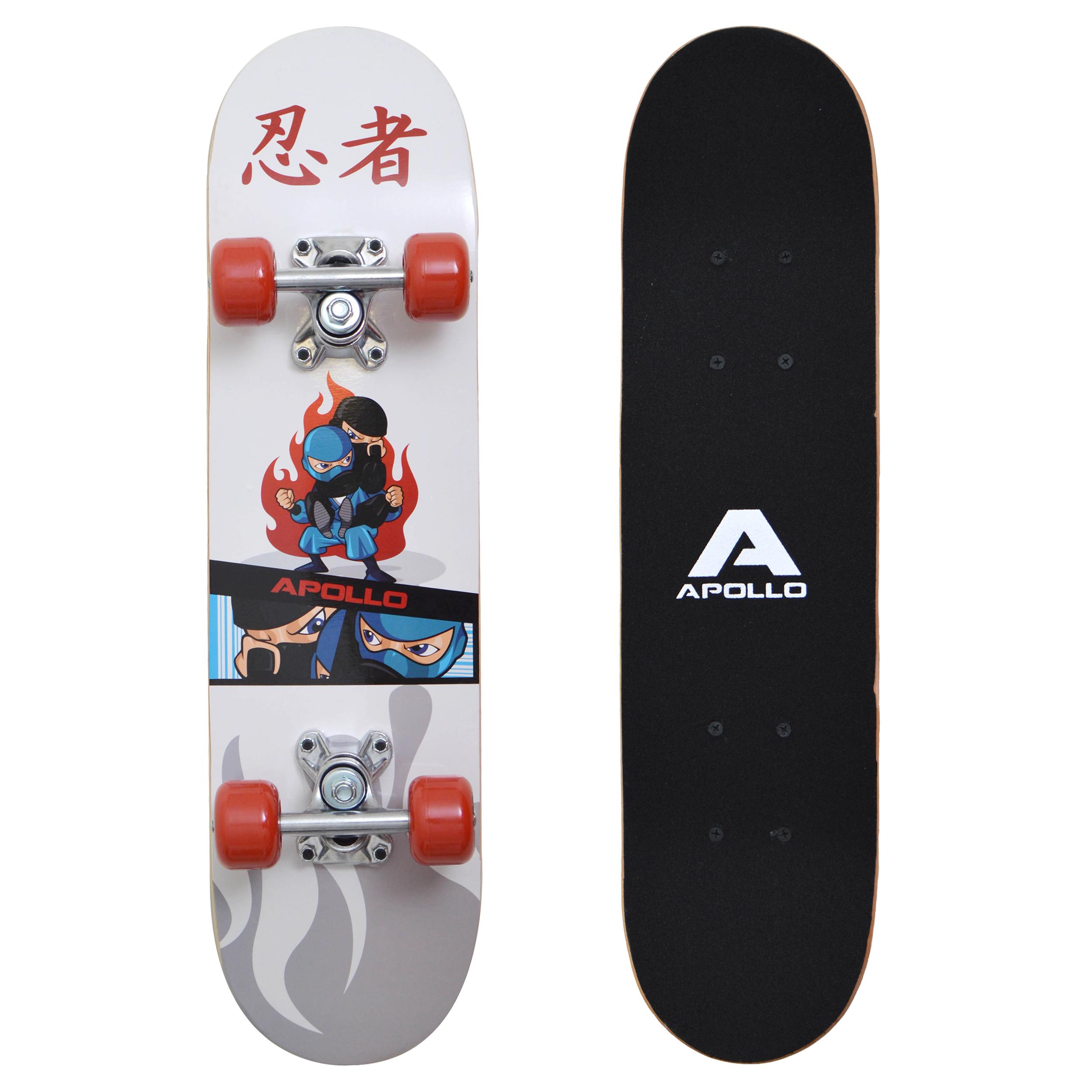 Apollo Skateboard - Ninja - Kinderskateboard 61cm