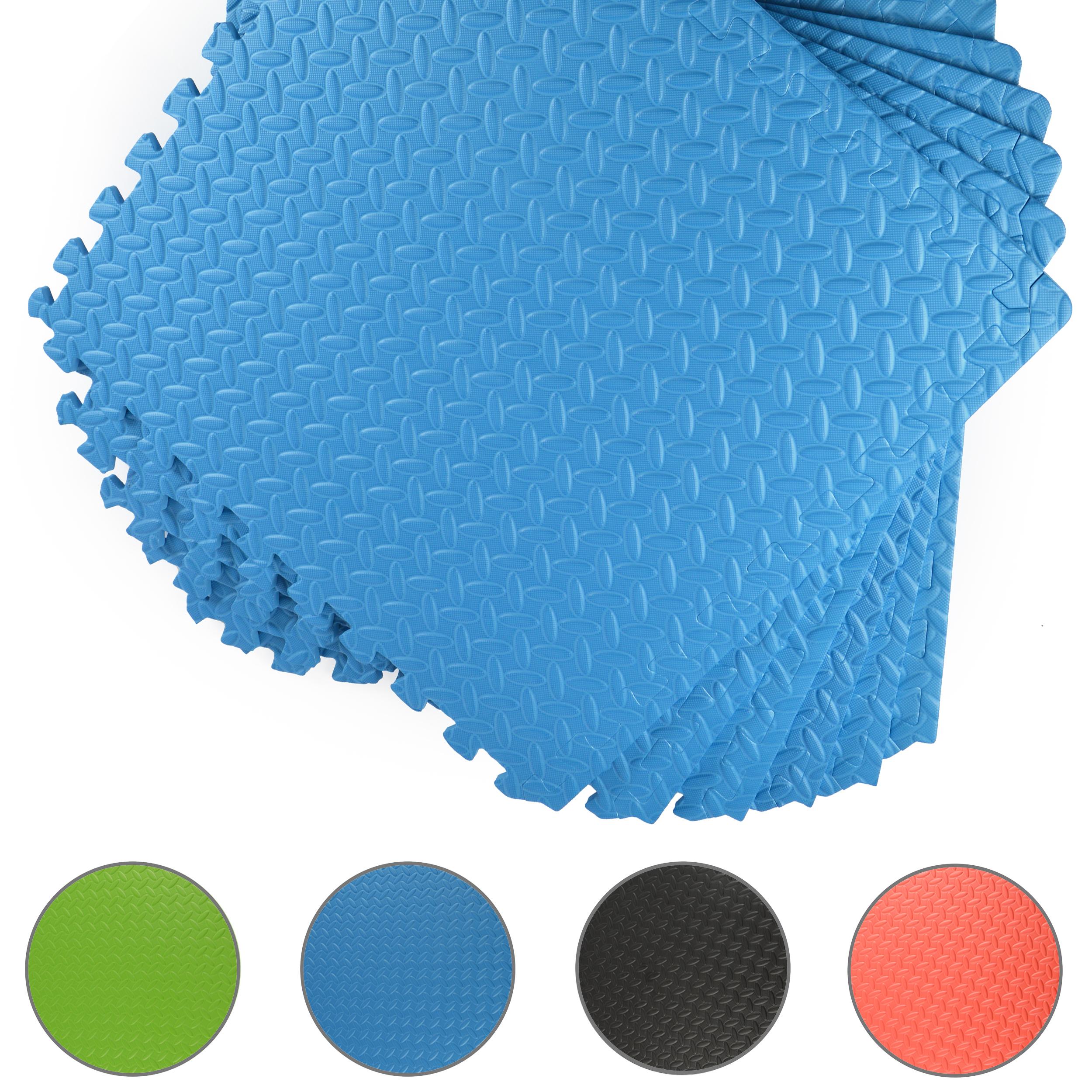 EVA Premium Puzzlematten - Blau