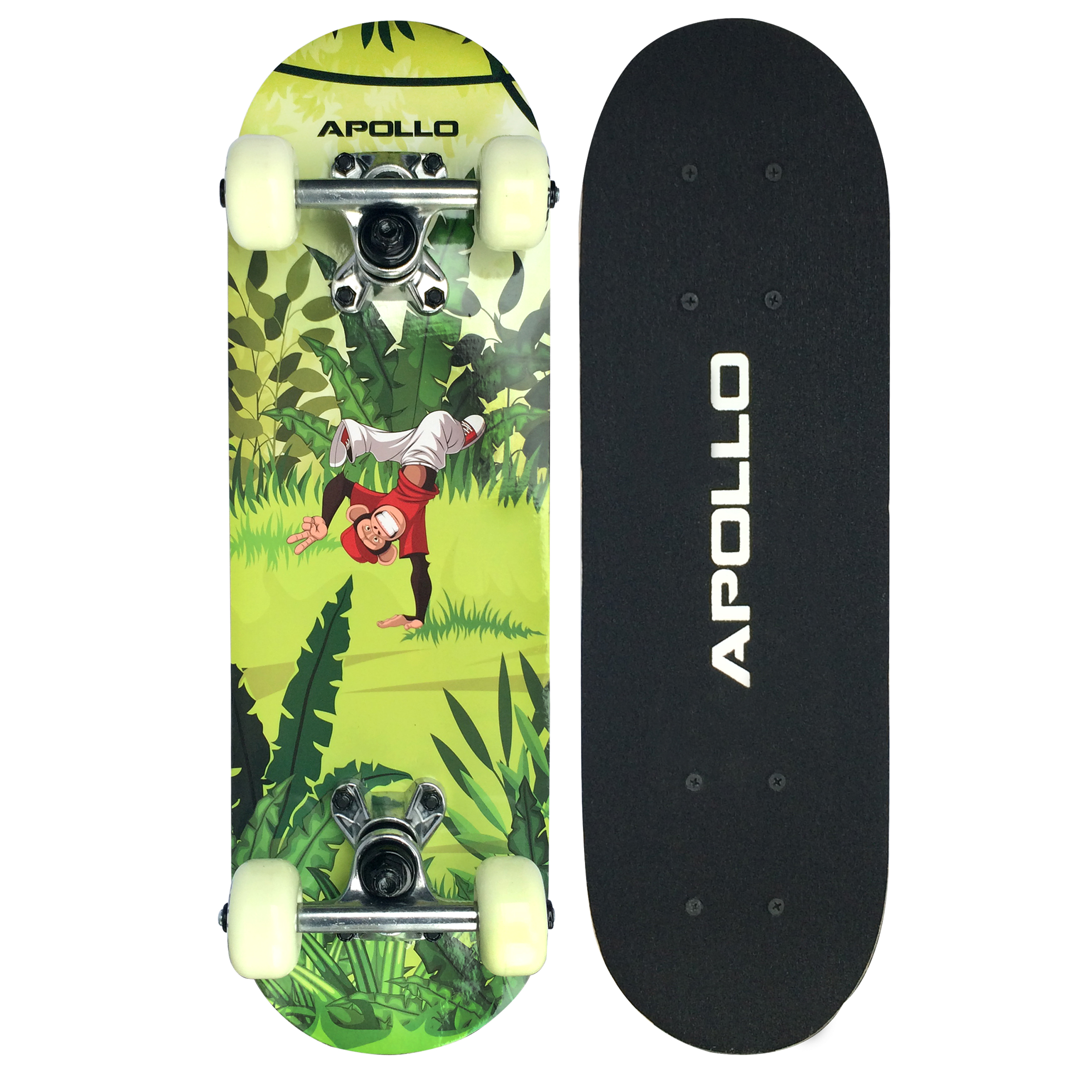 Apollo Skateboard - Monkey Man - Kinderskateboard 51cm