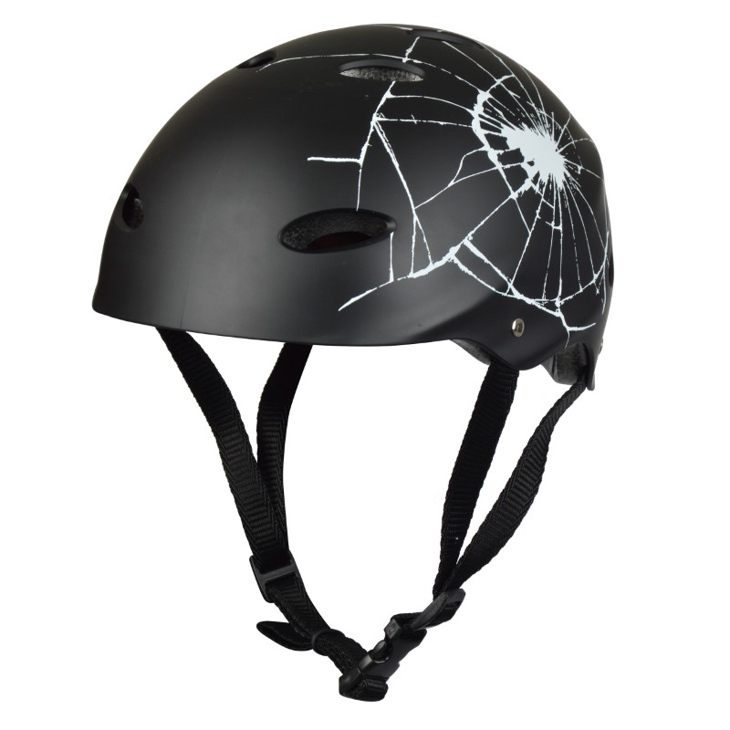 Apollo Skatehelm - Large - Kopfumfang 58-62 cm Design: Broken