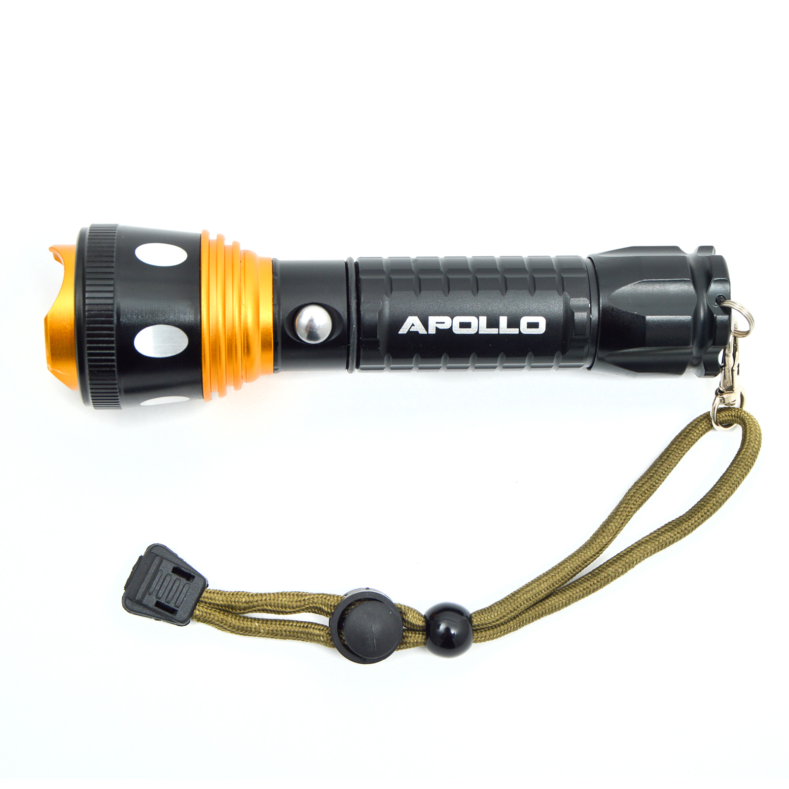 SV078 Apollo LED Taschenlampe Torch Police 1200
