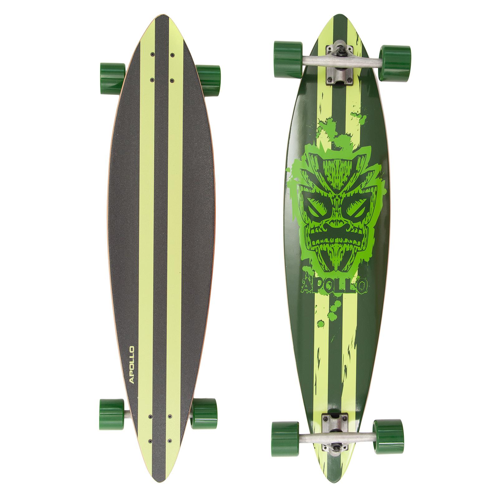 Apollo Totem Pintail Longboard, Komplettboard 39 (99cm)