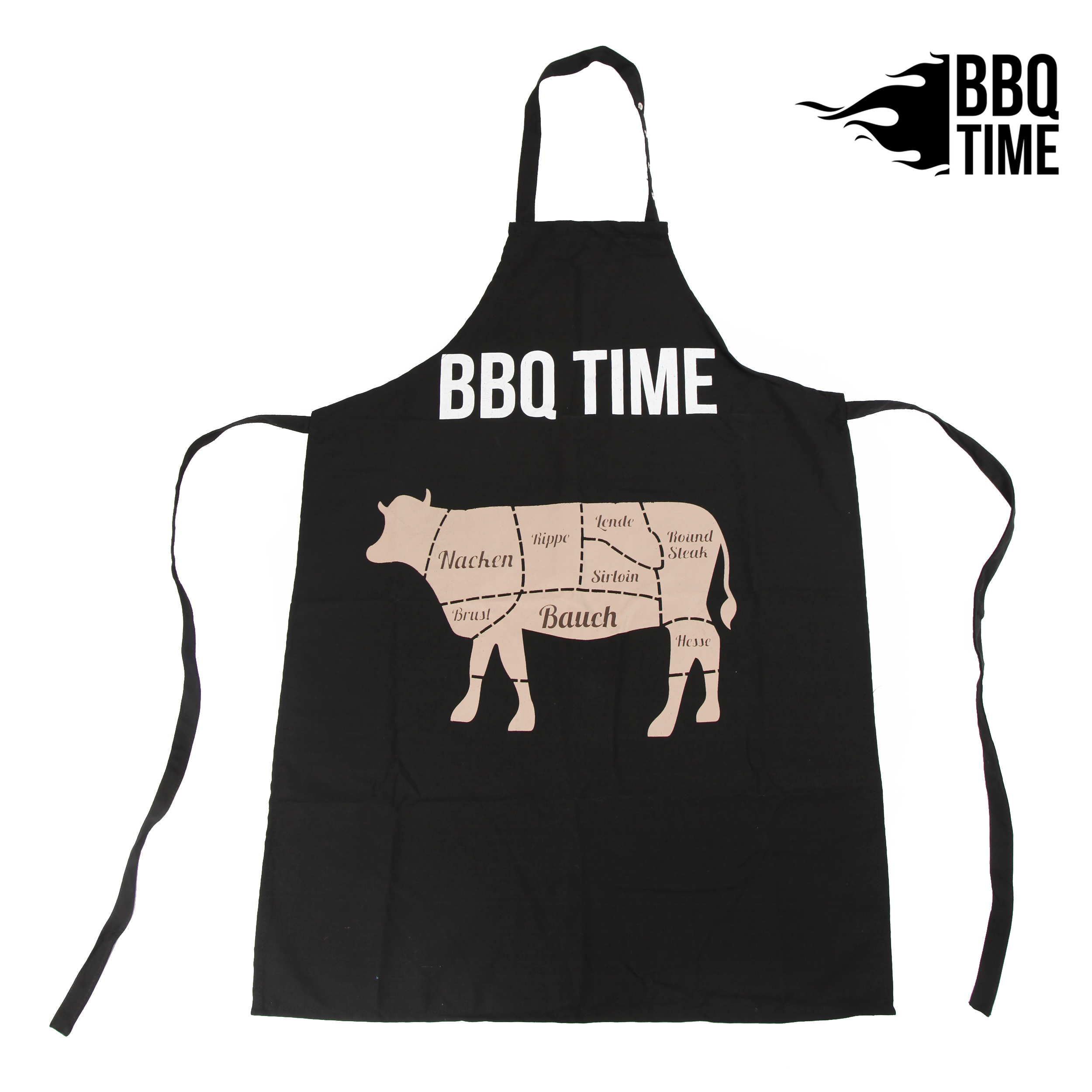 Grillschürze BBQ TIME - COW