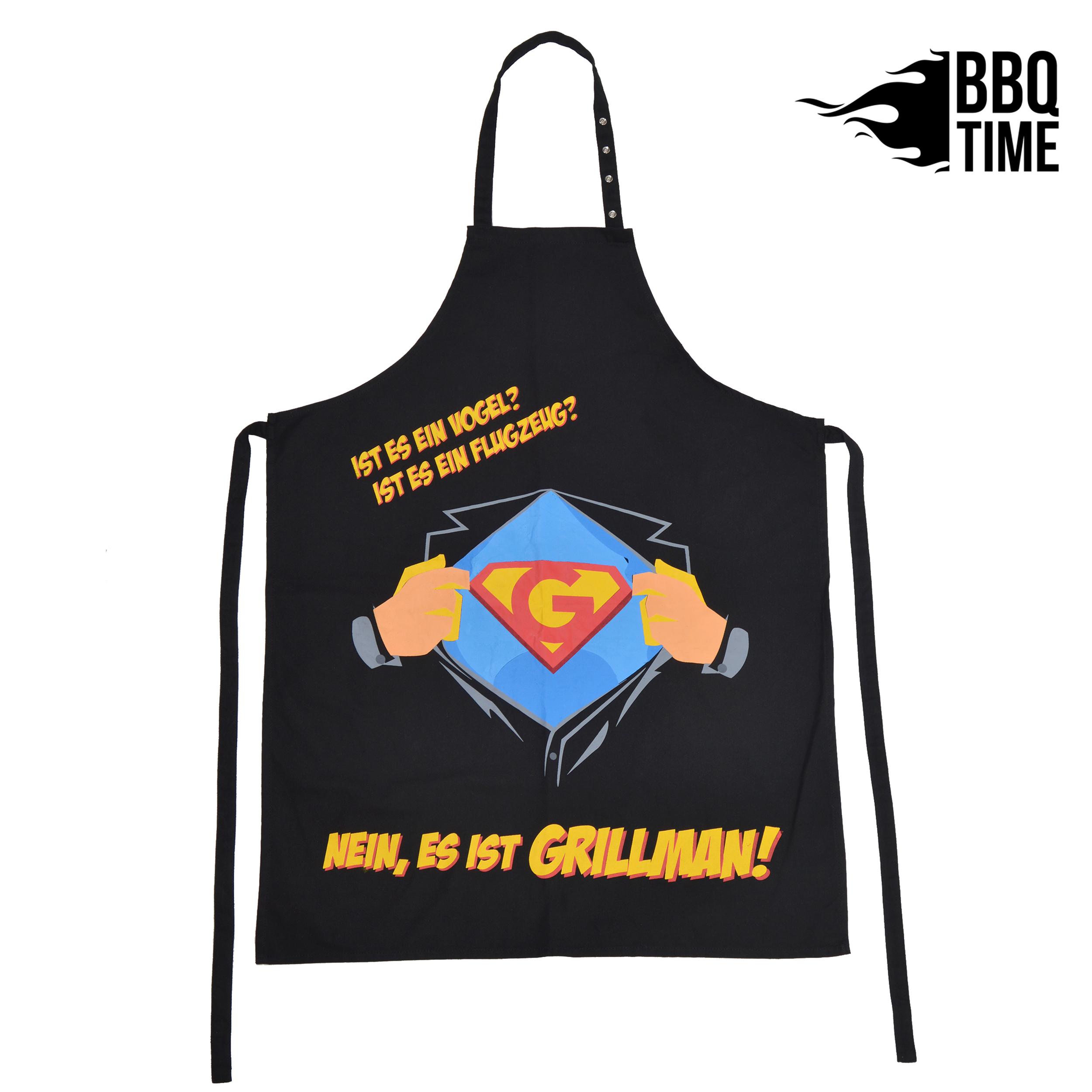 Grillschürze BBQ TIME - Grillmann