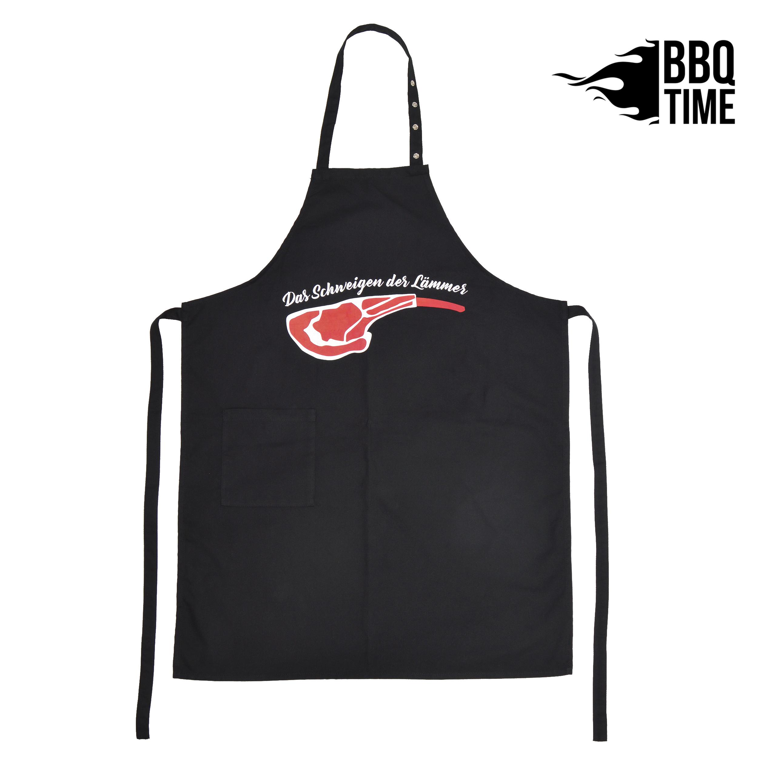 Grillschürze BBQ TIME - Das Schweigen der Lämmer
