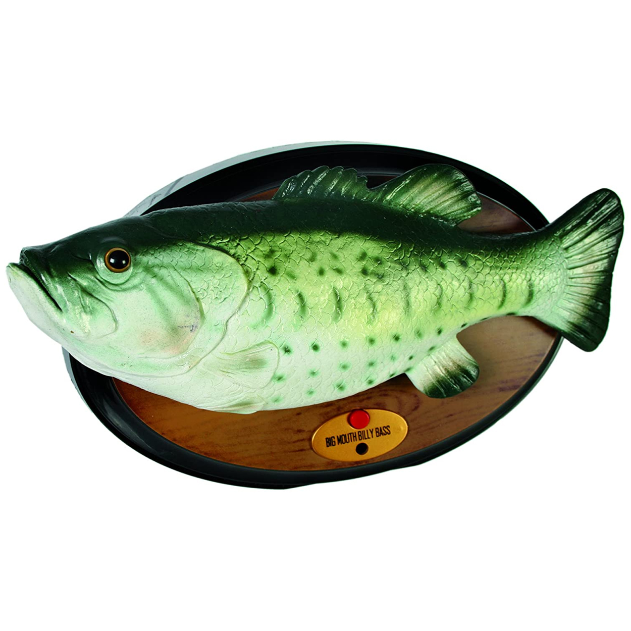 Billy Bass, singender Fisch mit Bewegung (Don't worry be happy & I'll survive)