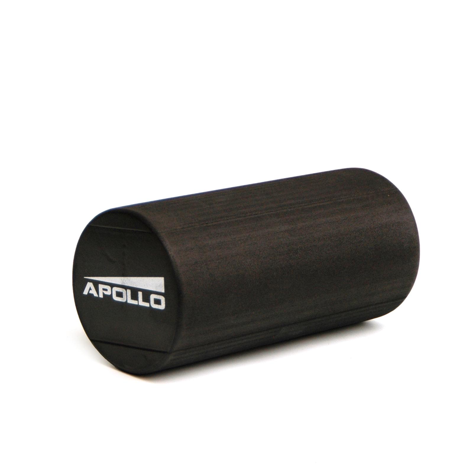 APOLLO Massage & Pilates Rolle Delhi 15x30cm Schaumstoffrolle schwarz