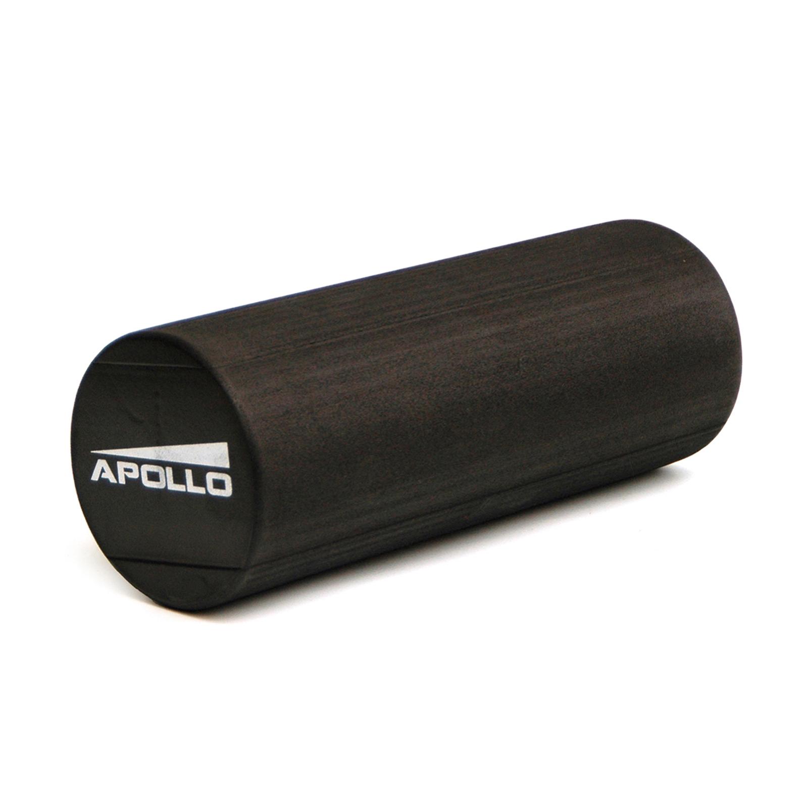APOLLO Massage & Pilates Rolle Delhi 15x45cm Schaumstoffrolle schwarz