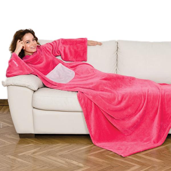 Kanguru Decke Deluxe Pink
