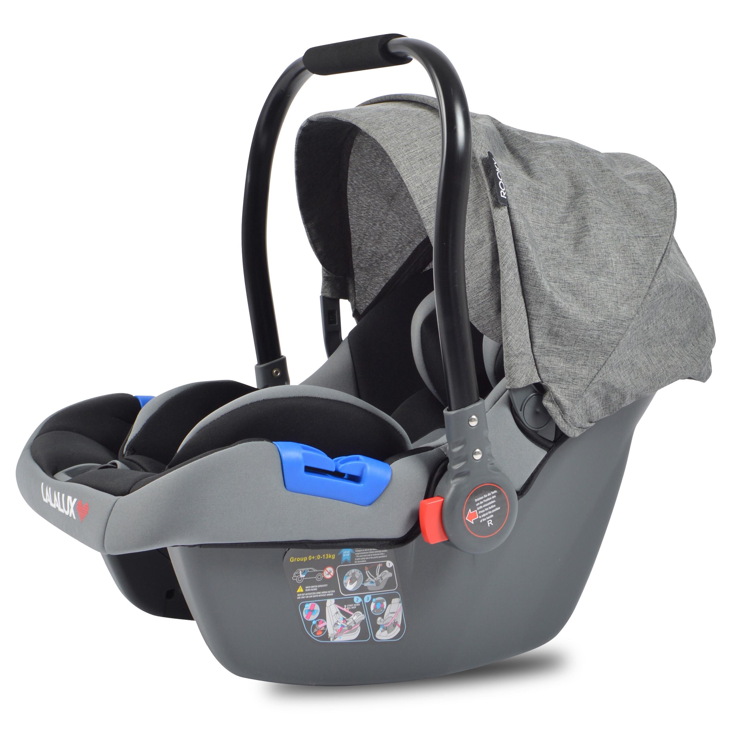 Lalalux Babysafe Autositz Grau