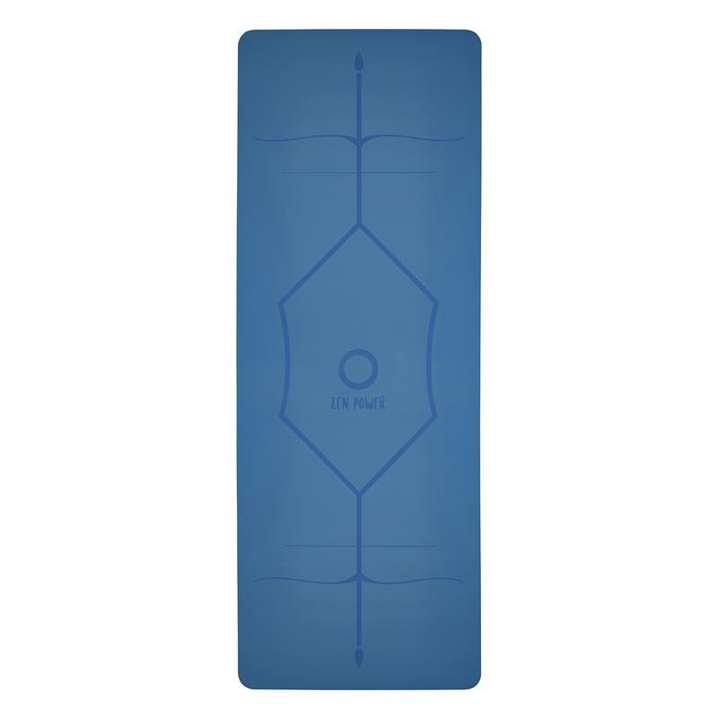 ZenPower Yogamatte Mandala - Blau