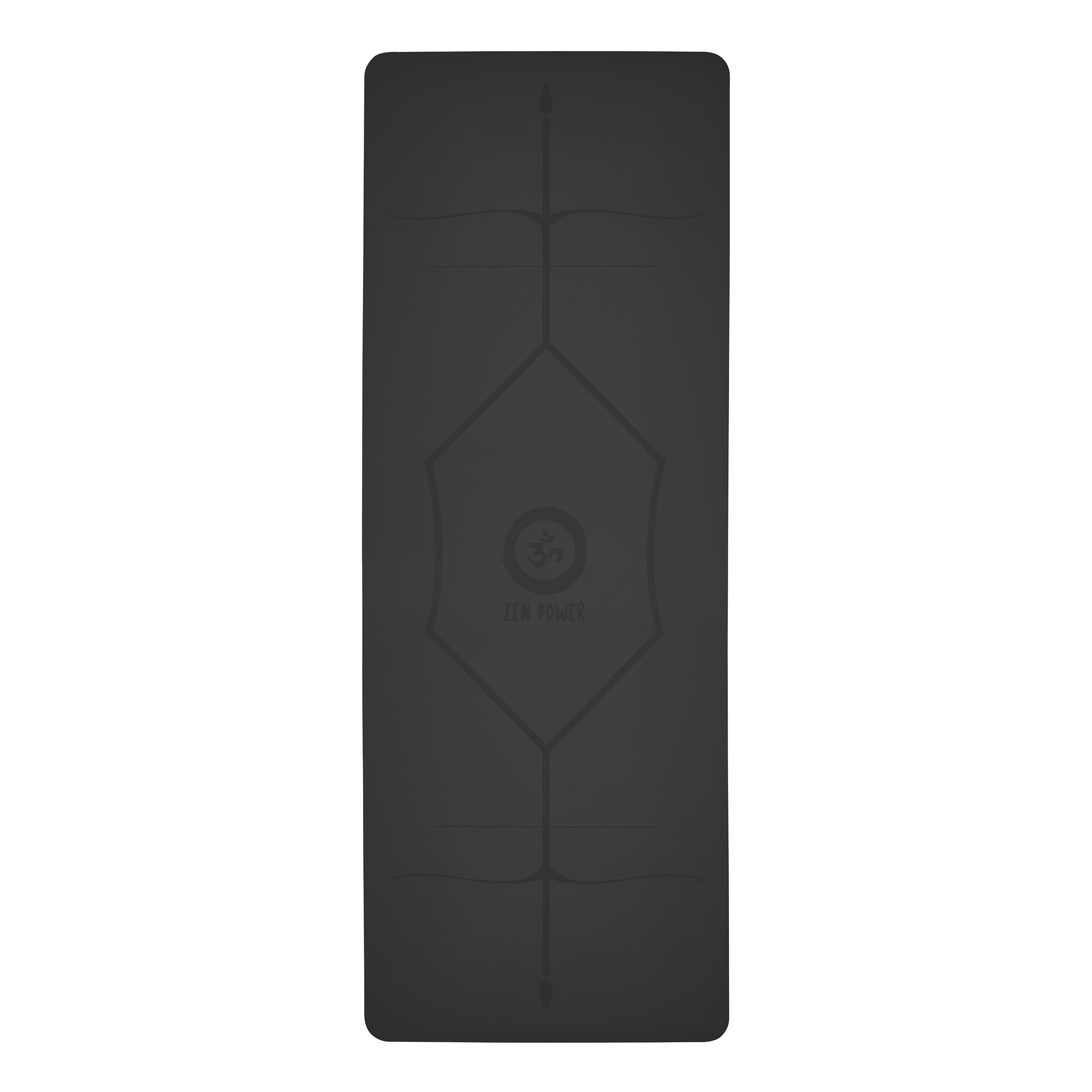 ZenPower Yogamatte Mandala - Anthrazit