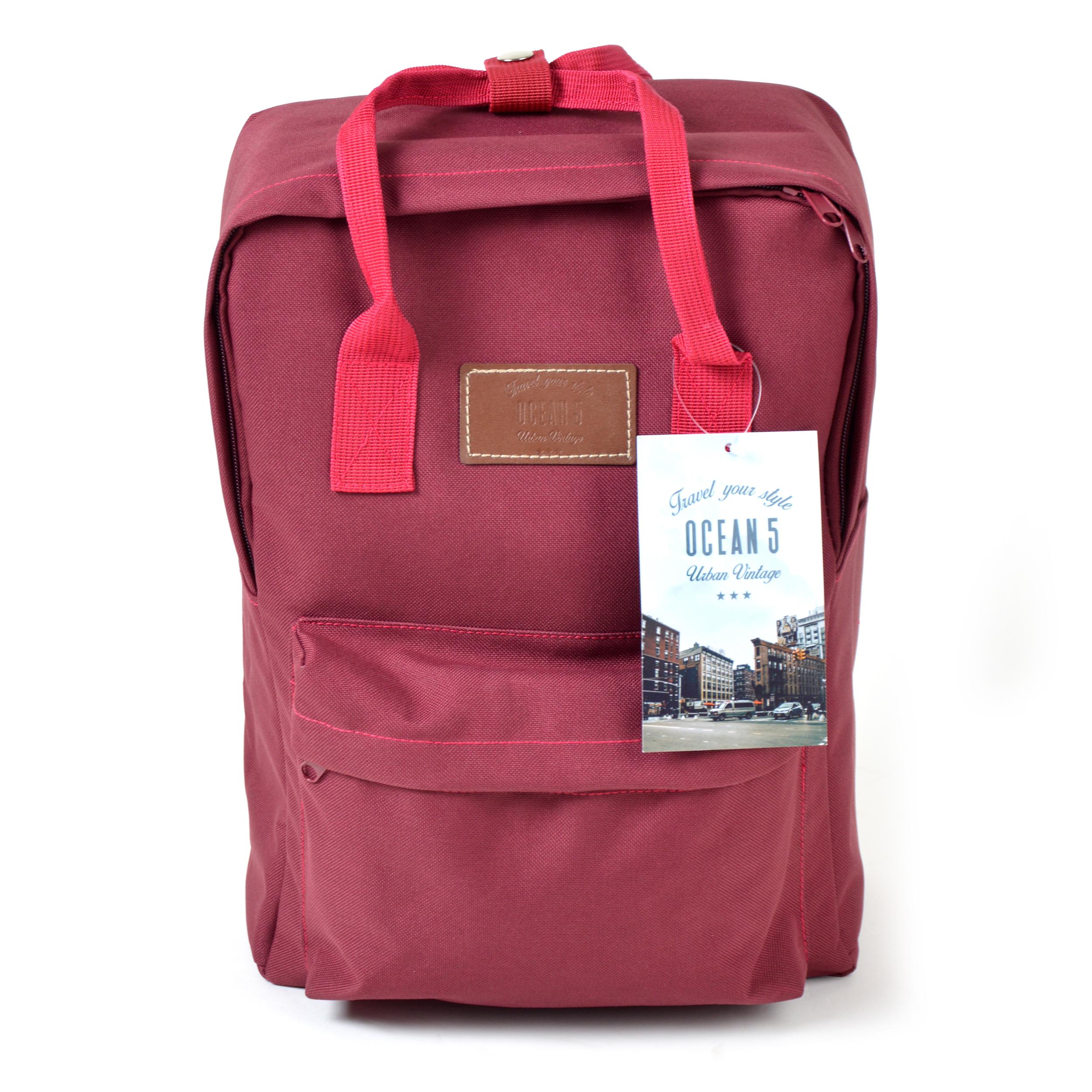 Rucksack Vancouver - Mini-Rucksack Farbe: Rot