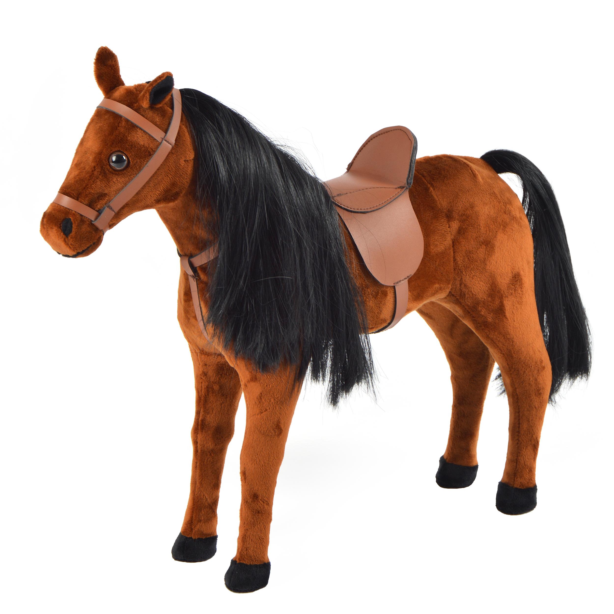 40 cm Pferd, Braun - Bronco