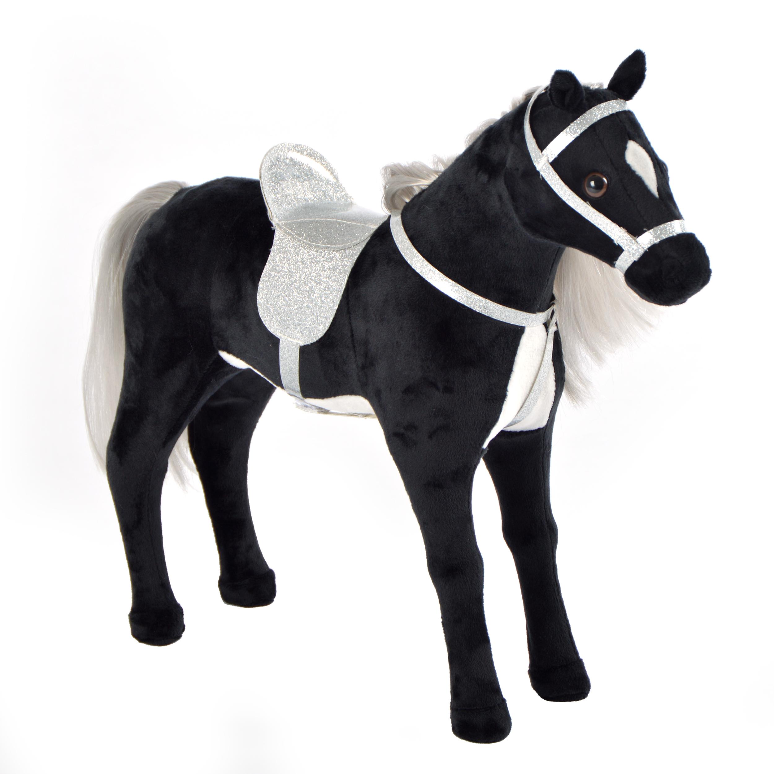 40 cm Pferd, Schwarz - Carmen