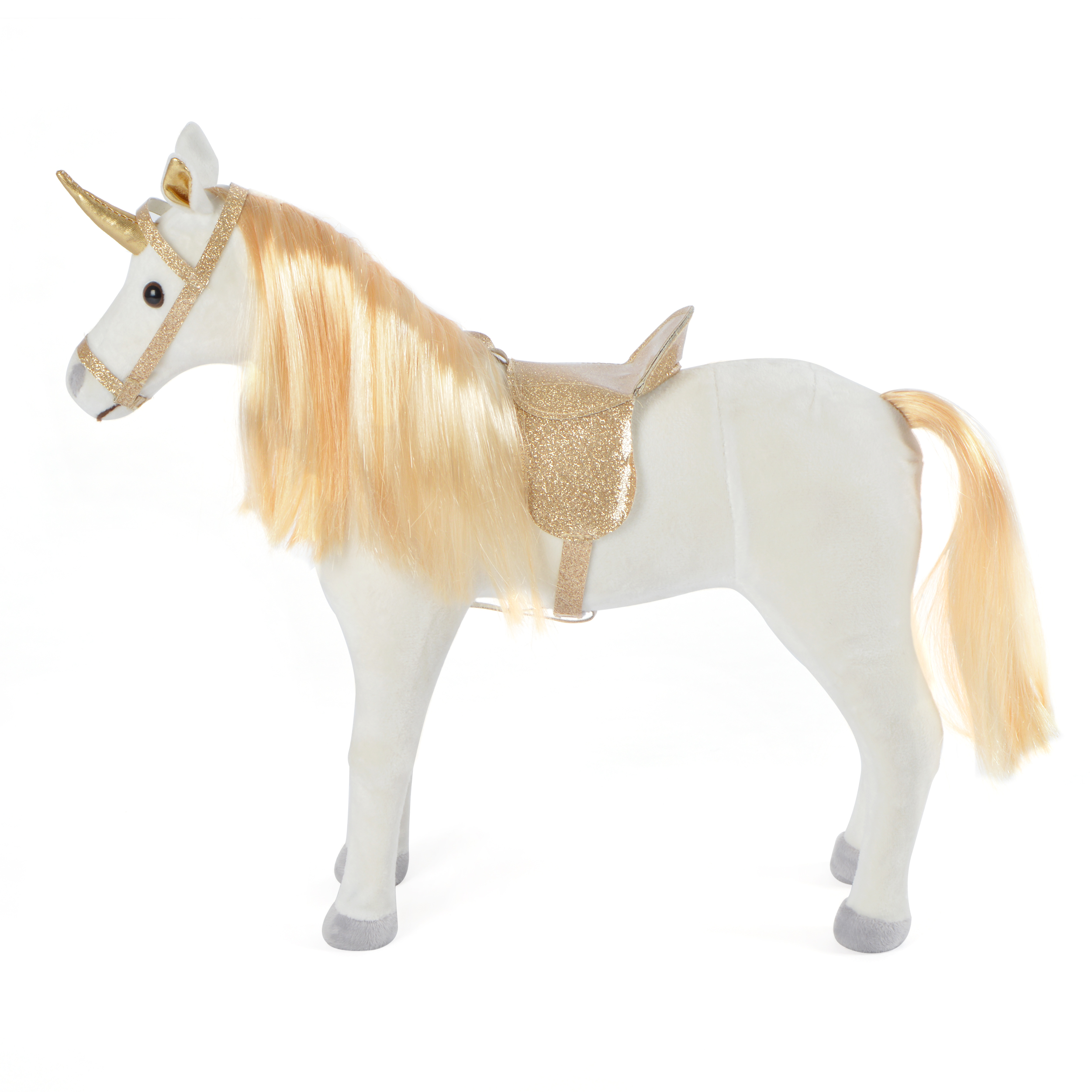40 cm Pferd, GOLD - Selina