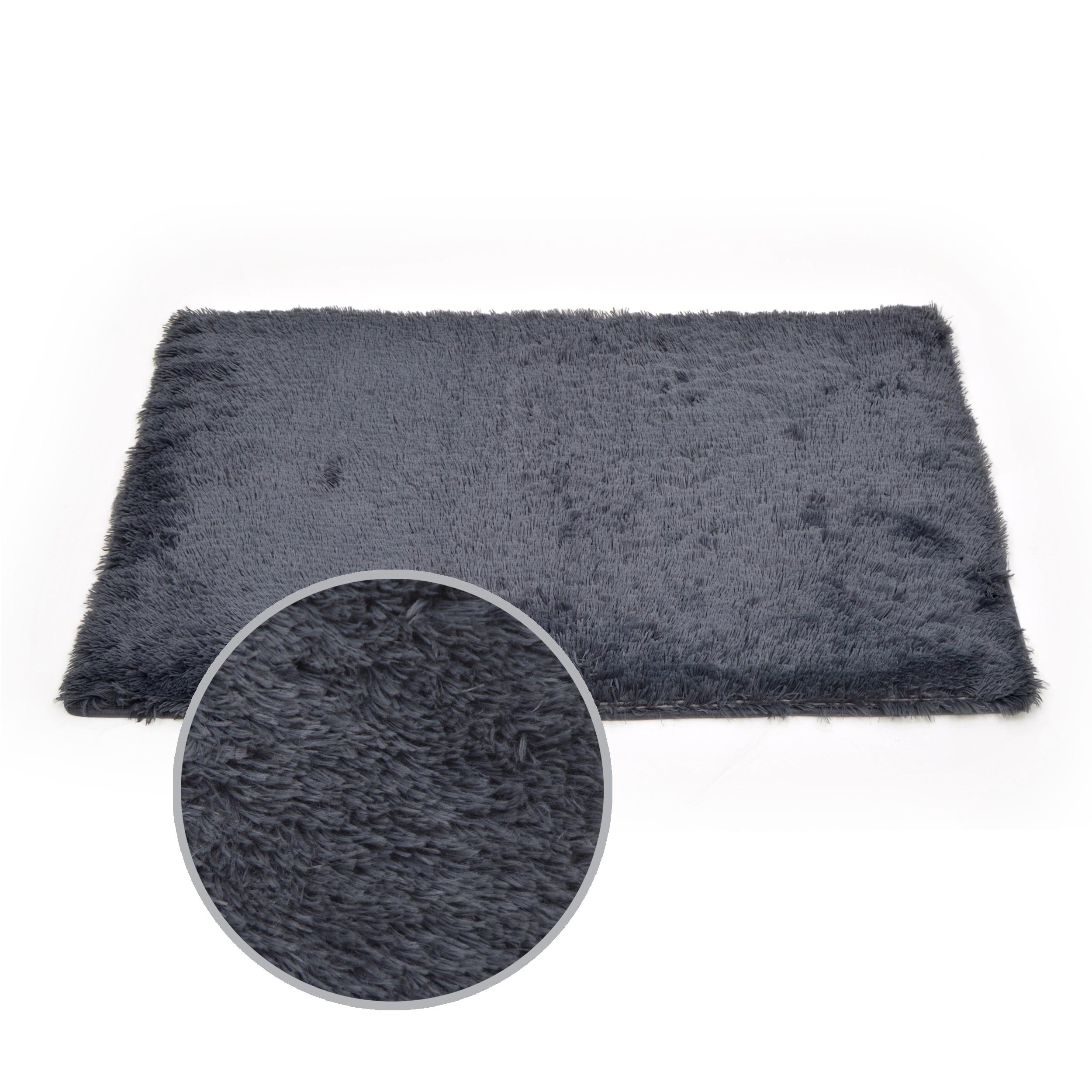 badgarnitur heaven grau badezimmer dusch bade matte teppich vorleger ebay. Black Bedroom Furniture Sets. Home Design Ideas