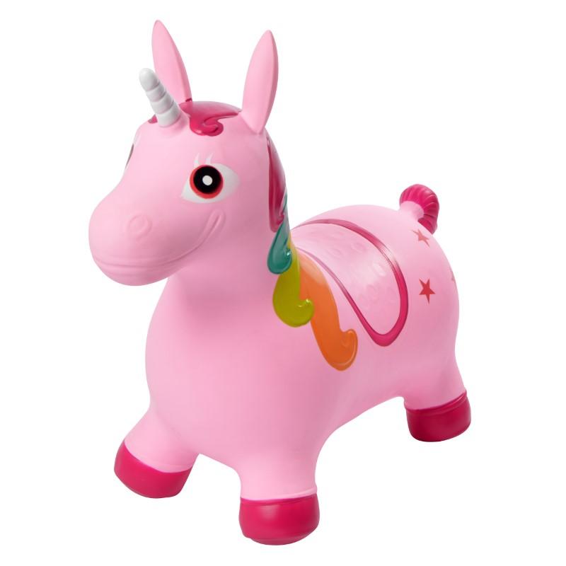 Pink Papaya Hüpftier Einhorn Pink - Sandy