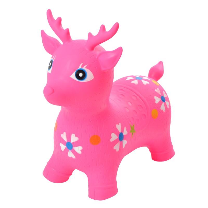 Pink Papaya Hüpftier Reh Pink - Daisy