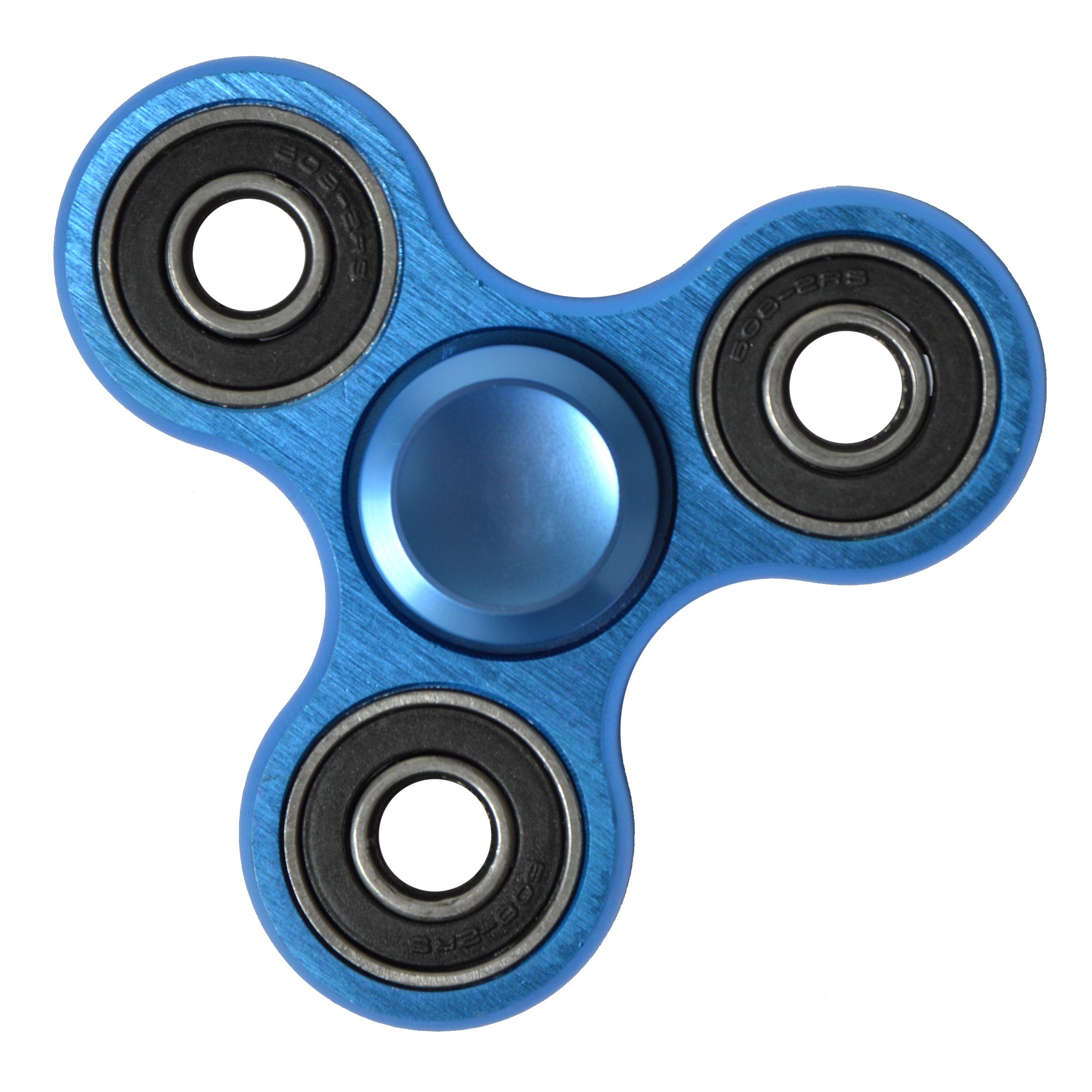 Spinner Fidget Toys Flip Me Finger-Kreisel, Farbe: blau