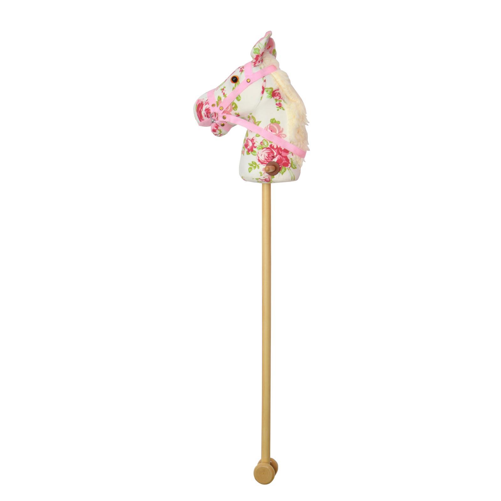 Steckenpferd FLOWER mit Sound - Blumenmuster