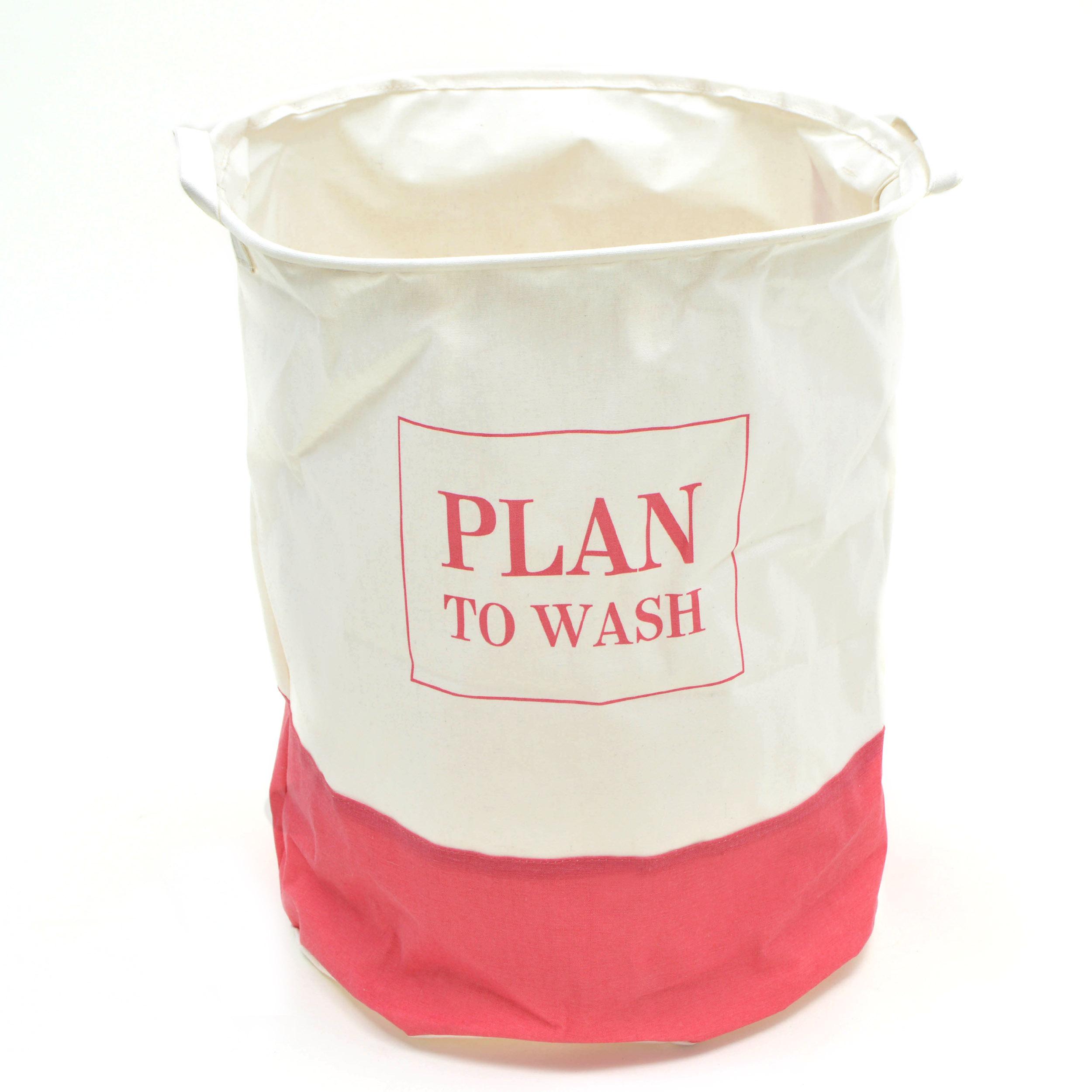 SV131-P Pink Papaya Wäschesack Wäschekorb H:50 x Ø 40 cm Plan to wash PINK