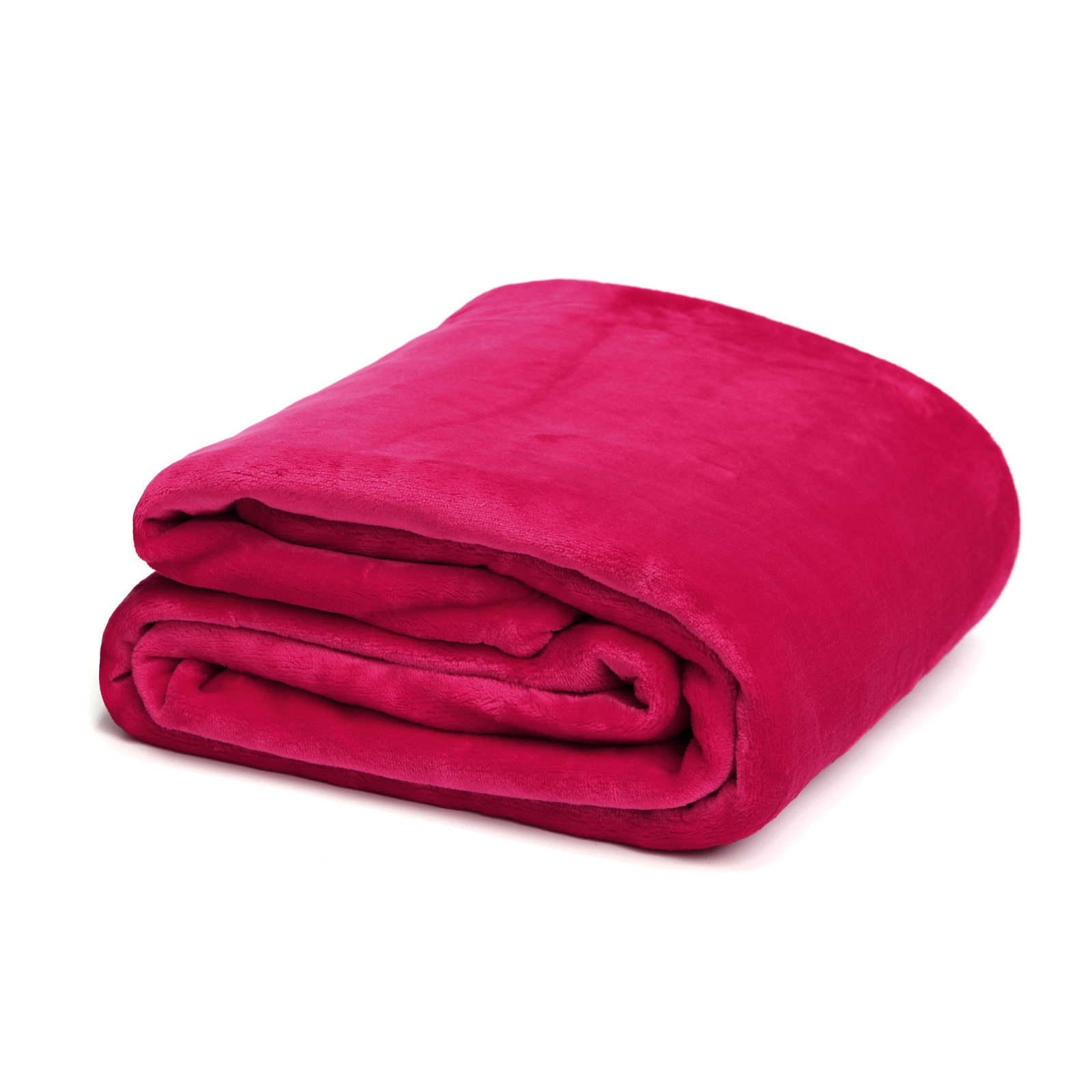 Pink Papaya Snug Me Supersoft Cashmere-Touch 150x200 cm - rot