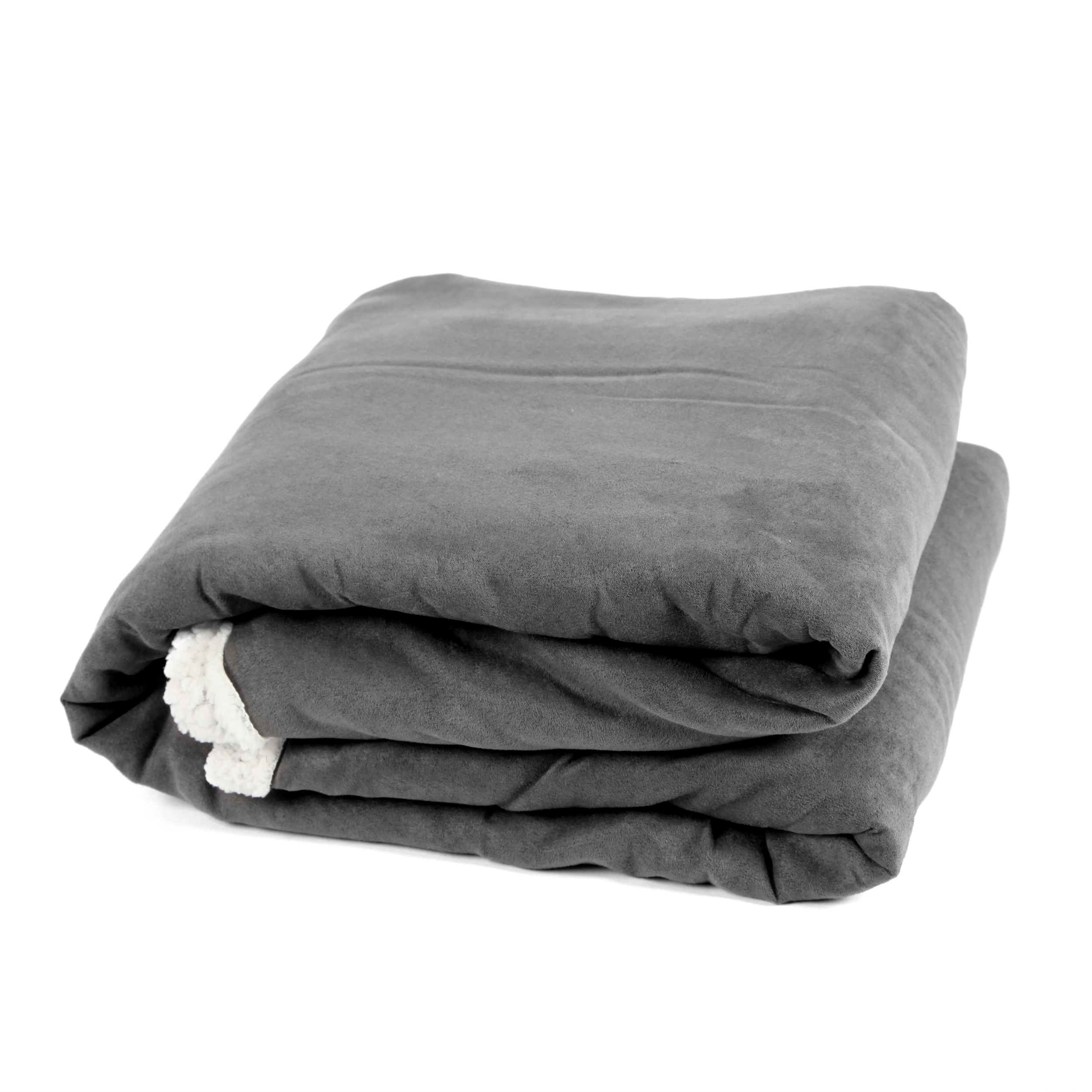 Vendome Sherpa Decke - Charcoal