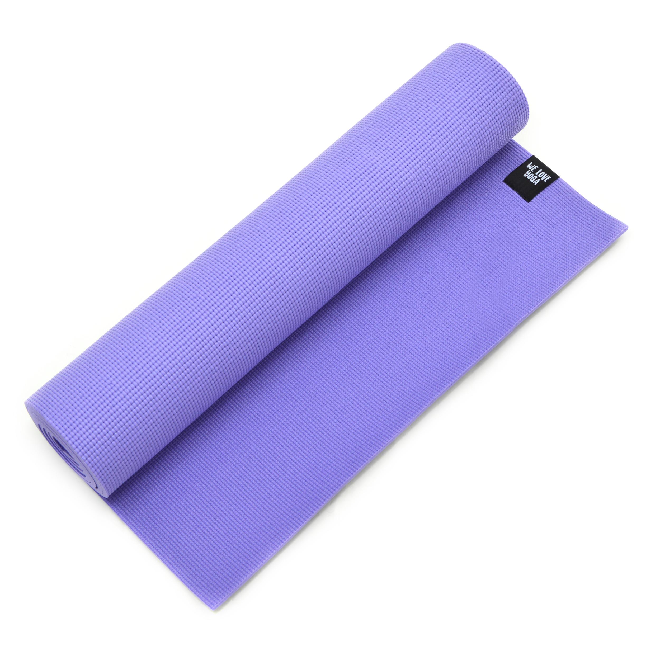 Zen Power PVC Yogamatte, für Yoga, Pilates, Gymnastik, Farbe: lila